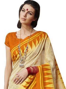 Viva N Diva Printed Bhagalpuri Silk Saree -11099-Banarasiya-06
