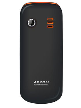 Combo of Adcom A 40 3G SmartPhone (White) + Adcom X5 Voice Changer Feature Phone (Black & Orange ) + Powerbank 2200mAh (Blue) + Earphone Without Mic