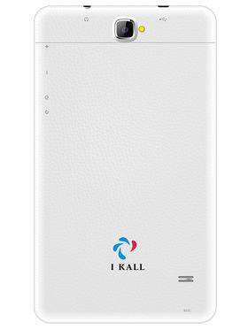 I KALL N8 Kitkat 3G Calling Tablet (RAM : 512 MB : ROM : 8GB) - White