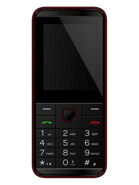 Xccess X241 Bold Super Feature Phone - Red