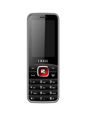 I Kall K41 Dual SIM Mobile Phone (Black Red)