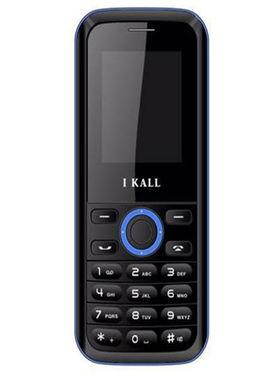 I Kall K18 Dual SIM Mobile Phone (Black Blue)