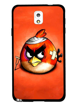 Snooky Designer Print Hard Back Case Cover For Samsung Galaxy Note 3 - Orange