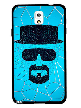 Snooky Designer Print Hard Back Case Cover For Samsung Galaxy Note 3 - Blue