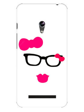 Snooky Designer Print Hard Back Case Cover For Asus Zenfone 4.5 - Pink
