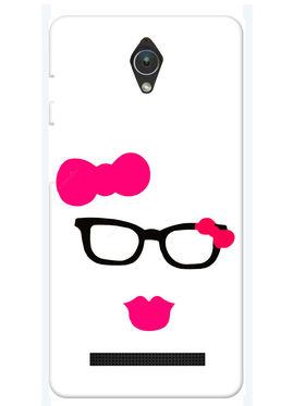 Snooky Designer Print Hard Back Case Cover For Asus Zenfone C ZC451CG - Pink