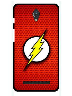 Snooky Designer Print Hard Back Case Cover For Asus Zenfone C ZC451CG - Red