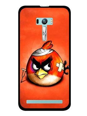 Snooky Designer Print Hard Back Case Cover For Asus Zenfone Selfie ZD551KL - Orange