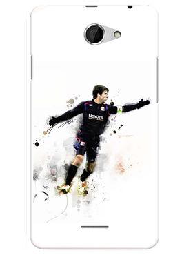 Snooky Designer Print Hard Back Case Cover For HTC Desire 516 - Multicolour