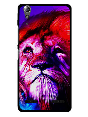 Snooky Designer Print Hard Back Case Cover For Lenovo A6000 - Multicolour