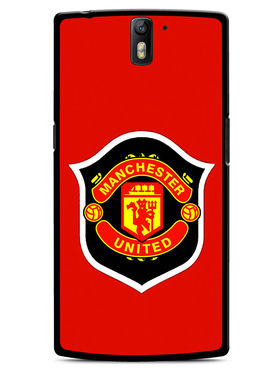 Snooky Designer Print Hard Back Case Cover For OnePlus One - Red