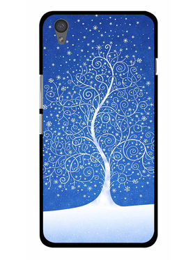 Snooky Designer Print Hard Back Case Cover For OnePlus X - Blue