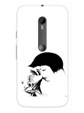 Snooky Designer Print Hard Back Case Cover For Motorola Moto G (Gen 3) - White