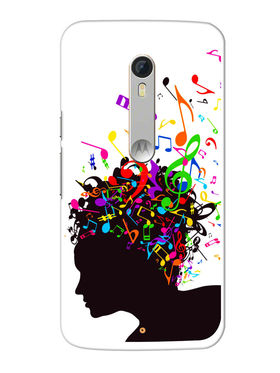 Snooky Designer Print Hard Back Case Cover For Motorola Moto X Play - Multicolour