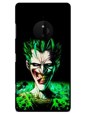 Snooky Designer Print Hard Back Case Cover For Nokia Lumia 830 - Black