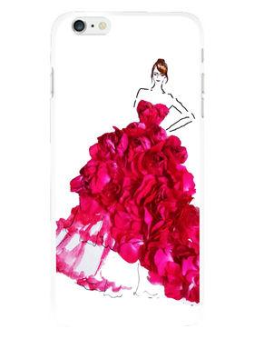 Snooky Designer Print Hard Back Case Cover For Apple iPhone 6S - Pink