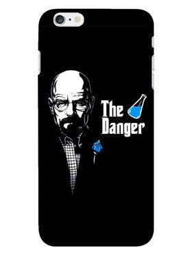 Snooky Designer Print Hard Back Case Cover For Apple iPhone 6S - Black