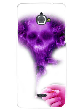 Snooky Designer Print Hard Back Case Cover For InFocus M530 - Purple
