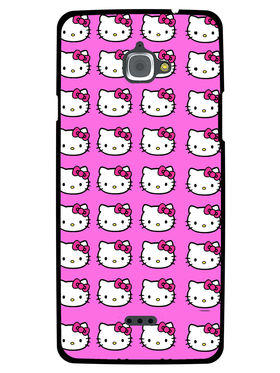 Snooky Designer Print Hard Back Case Cover For InFocus M530 - Pink