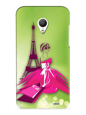 Snooky Digital Print Hard Back Case Cover For Meizu MX3 - Green