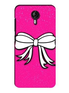 Snooky Digital Print Hard Back Case Cover For Micromax Canvas Nitro 3 E455 - Pink