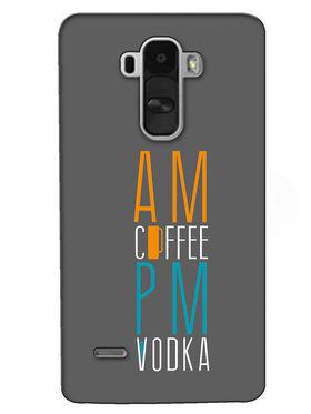 Snooky Digital Print Hard Back Case Cover For LG G4 Stylus - Grey