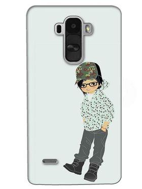 Snooky Digital Print Hard Back Case Cover For LG G4 Stylus - Green