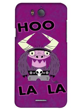 Snooky Digital Print Hard Back Case Cover For InFocus M530 - Purple