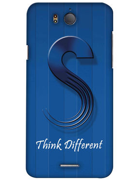 Snooky Digital Print Hard Back Case Cover For InFocus M530 - Blue