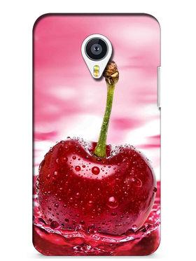 Snooky Digital Print Hard Back Case Cover For Meizu MX4 - Rose Pink