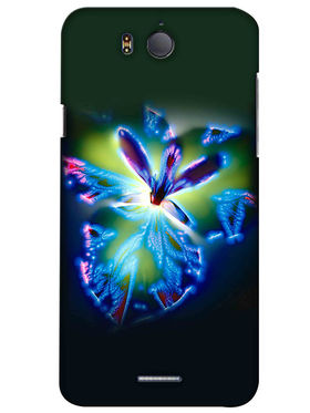 Snooky Digital Print Hard Back Case Cover For InFocus M530 - Green