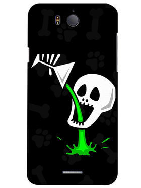 Snooky Digital Print Hard Back Case Cover For InFocus M530 - Black
