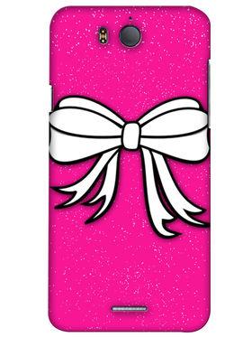 Snooky Digital Print Hard Back Case Cover For InFocus M530 - Pink