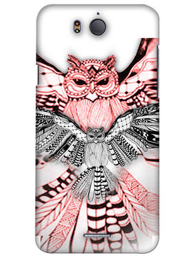 Snooky Digital Print Hard Back Case Cover For InFocus M530 - Multicolour