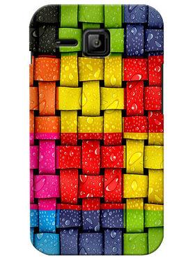 Snooky Digital Print Hard Back Case Cover For Micromax Bolt S301 - Multicolor