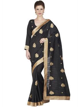 Designersareez Bhagalpuri Embroidered Saree -1847