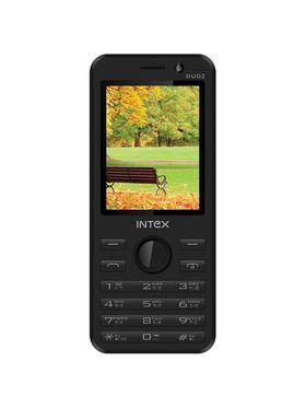 Intex Turbo Duoz Dual Sim Phone - Black