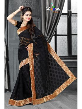 Pack of 3 Zoom Fabrics Embroidered Saree_3226 ,3366 ,3157