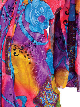 Set of 7 Stylish Designer Georgette Sarees
