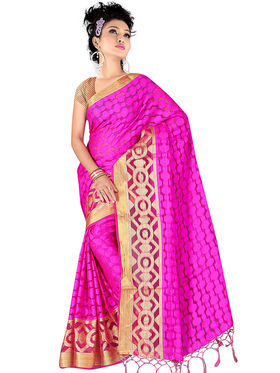 Pack of 5 Adah Fashions Printed South Silk Saree -adf01
