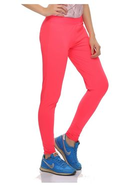 Clovia Solid Polyamide  Spandex Solid High Rise Tights -AT0020P22