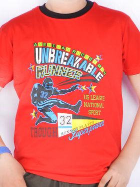 American Indigo 5 Graphic T-Shirts for Boys