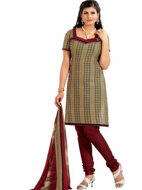 Khushali Fashion Cotton Self Dress Material -Bgssnr44004