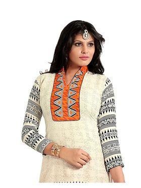 Khushali Fashion Cotton Self Dress Material -Bgssnr44015