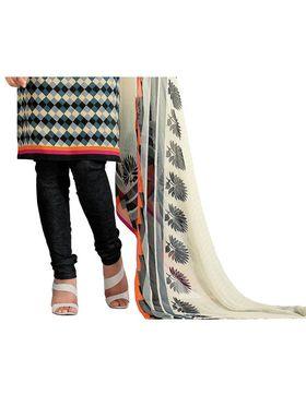 Khushali Fashion Cotton Self Dress Material -Bgssnr44016