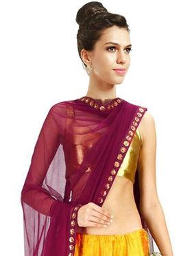 Styles Closet Printed Banglori Silk Semi Stitched Lehenga Choli-Bnd-7014