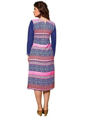 Khushali Fashion Georgette Printed Stitched Kurti -Cnt1756
