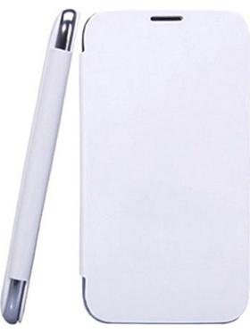 Camphor Flip Cover for Gionee E6 - White