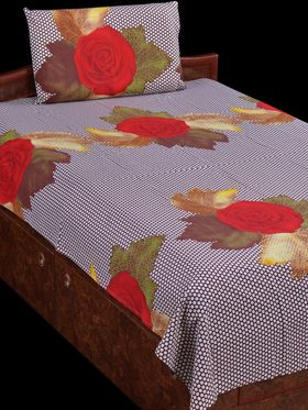 Cotton Rich 4 Double & 4 Single Bedsheets Combo (4DSBS7)