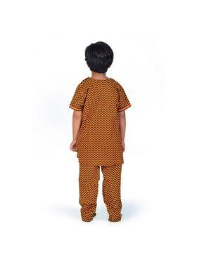 Little India Pure Cotton Printed Salwar Suit - Multi & Color